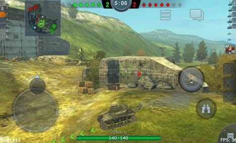 World of Tanks Blitz:ポイント1