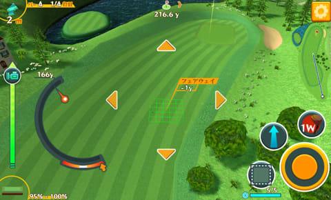 スマホでゴルフ! ぐるぐるイーグル 【無料スポーツアプリ】:ポイント4