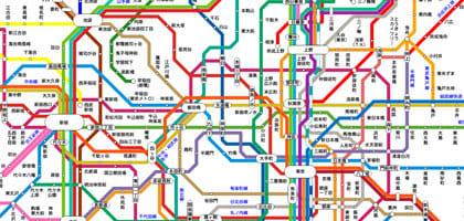大都市の乗り換えって大変。電車が多すぎて困った。就職活動にもレジャーにも役立つおすすめ乗り換え案内アプリ