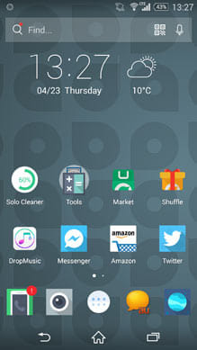 Sharp icons / Solo Launcher