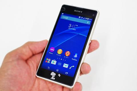 「Xperia J1 Compact 」は、MVNOのスマートフォンとしてはかなり満足できるモデル