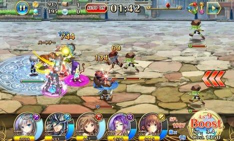 輝星のリベリオン【新感覚ストラテジーRPG‐ホシリベ】:プレイヤーキャラを守りながら戦おう。