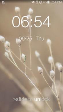 Lockscreen OS 8