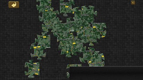 Seamless Earth 75億ピース地球ジグソーパズル:ピースが白くない!緑かつ道もつながっているSeamless Earth 75億ピース地球ジグソーパズル:ピースが白くない!緑かつ道もつながっている
