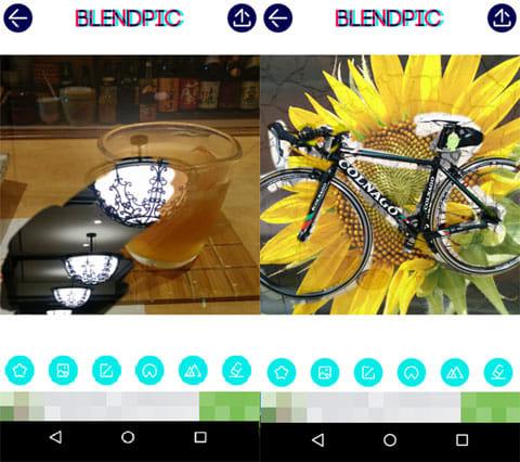 BlendPic:Blend photo:二重露光効果作品例