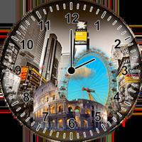 世界時計ウィジェット