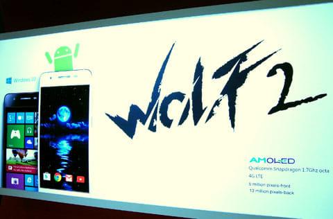 Wolf2はAndroid版(白)とWindows版(黒)の2種
