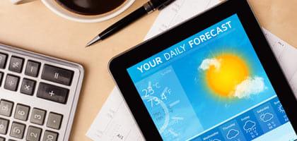 人気のお天気アプリをチェック!ゲリラ豪雨も予測できるお天気アプリ5選