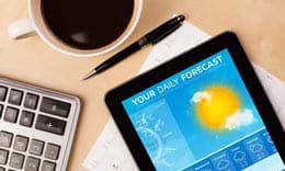 ゲリラ豪雨も予測できるお天気アプリ5選
