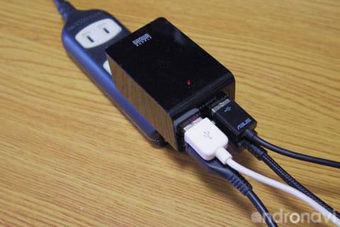 最大接続しても通電に問題なし