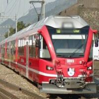 仮想列車(電車)の車窓から - スイスアルプス鉄道