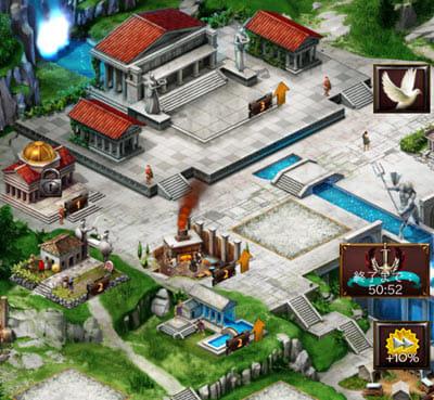 ゲーム・オブ・ウォー【Game of War】:施設をそろえるのが第一目標
