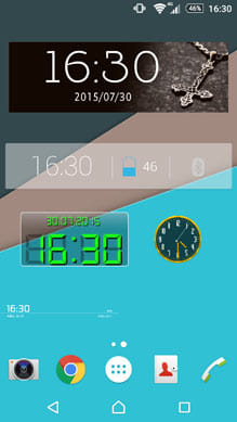 ホーム画面をかっこ良く演出!おすすめ時計ウィジェットとは?