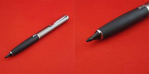 Renaissance Pro 全体(左)Renaissance Proのペン先(右)