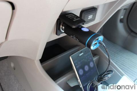 USBポートを2つ搭載
