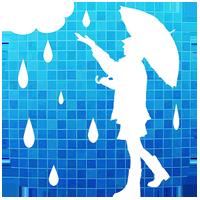 雨かしら?[地図で見る天気予報アプリ]