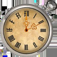 古い時計ウィジェット