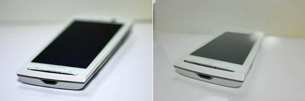 デジタル一眼レフとマクロレンズで撮影(左)「honor6 Plus」の「ワイドアパーチャ機能」で撮影(右)