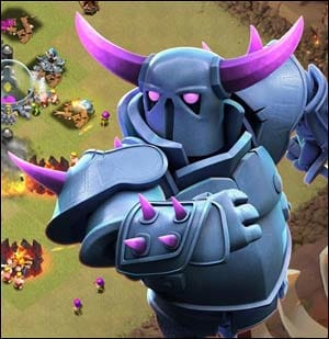 クラッシュ・オブ・クラン (Clash of Clans):こういう兵士が使えるようになったらもう魔王かなって思う