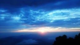 富士山からのご来光は格別!