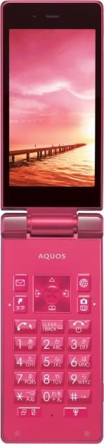 ソフトバンク:「AQUOS ケータイ 504SH」~スタイリッシュで上質なデザインのフィーチャーフォン~