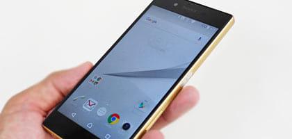指紋認証を搭載!注目の人気モデル「Xperia Z5」のデザインを検証