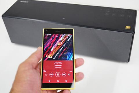 ワイヤレスで音楽を楽しむ時に、従来の最大約3倍のデータを転送できる「LDAC」にも対応