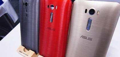 SIMフリースマホ「ZenFone 2 Laser」、スマートウォッチ「ZenWatch 2」が登場!