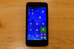 Windows 10 Mobile「KATANA 01」は12,800円の格安スマホ