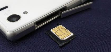 【FAQ】SIMを取り替える場合の注意はありますか?