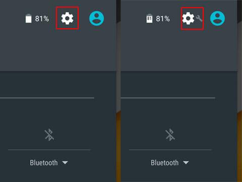 「SystemUI調整ツール」がONになるとアイコンも変化する