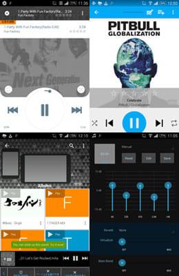 人気のミュージックプレイヤーアプリ!