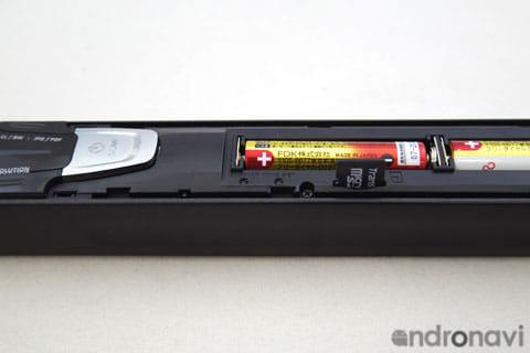 microSDカード挿入口