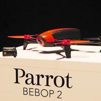 新型は67,500円!仏Parrot社「Bebop 2」は開封後10分以内にすぐ飛ばせる安全性に優れた...