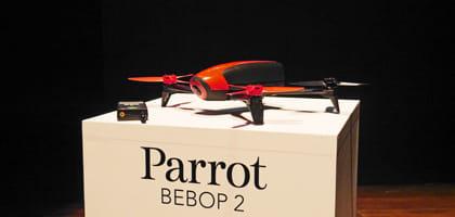 新型は67,500円!仏Parrot社「Bebop 2」は開封後10分以内にすぐ飛ばせる安全性に優れたドローン