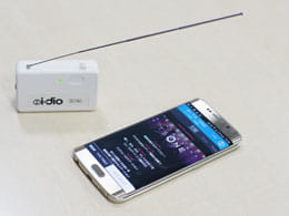 i-dioのWi-FiチューナーとAndroidスマートフォン