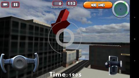 3Dドローンフライトシミュレータゲーム:視点切り替えも可能