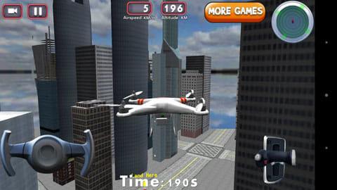 3Dドローンフライトシミュレータゲーム:手軽にドローンの操作体験