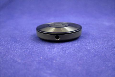 上部は3.5mmのオーディオジャック