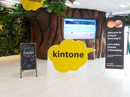 サイボウズ社の「kintone」