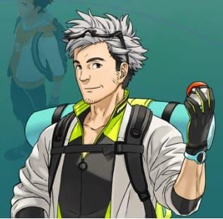 Pokémon GO(ポケモンGO):ウィロー博士はなかなかのイケメンだ