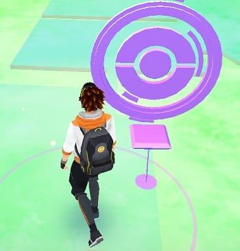 Pokémon GO(ポケモンGO):ポケストップが使える距離に近づいた