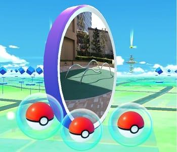 Pokémon GO(ポケモンGO):ポケストップでモンスターボールゲット!