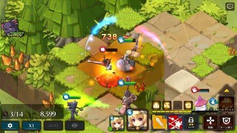 ファンタジーウォータクティクス(Fantasy War Tactics):ポイント4