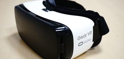 VRゴーグルのひとつ、Gear VR
