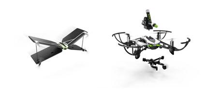 仏パロット社が新ドローンを発表!運搬からボール発射までできるミニドローンが15,000円で購入可能