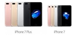 iPhone 7、iPhone 7 Plusが発売される