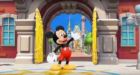 ディズニー マジックキングダムズ:▲もちろんミッキーが主役。ファンにはたまらん。