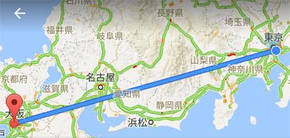 Googleマップの活用法!高速バスを使ったルート検索の方法