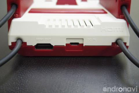 HDMIとUSBTypeBの充電端子
